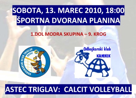 Astec Triglav : Calcit Volleyball